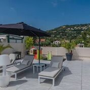 Cannes Bas De La Californie Toit Terrasse 4 Pièces De 100m Terrasse Sur Le Toit De 100m
